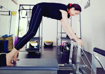 Clinical Pilates – on the reformer