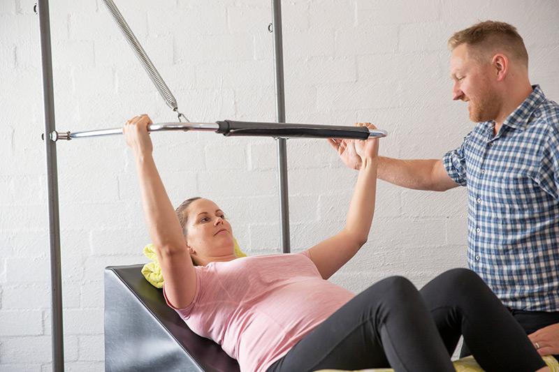 pregnancy pilates physio