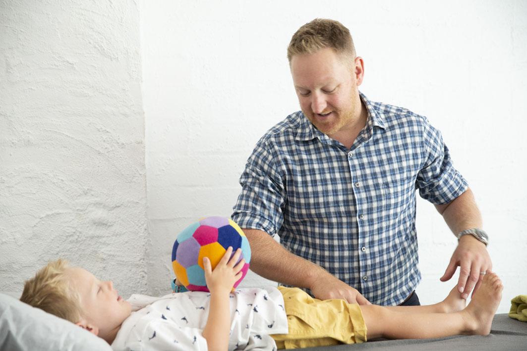 paediatric physio